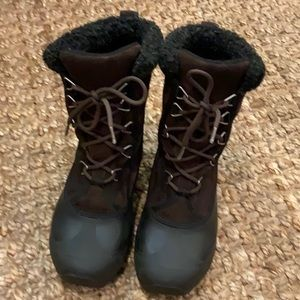 Sorel Cumberland brown winter boots Thinsulate 6